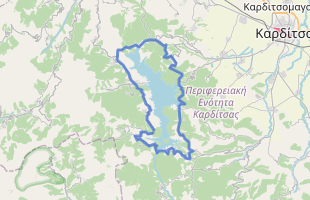 Cycling route in Greece starting from Plastira Lake